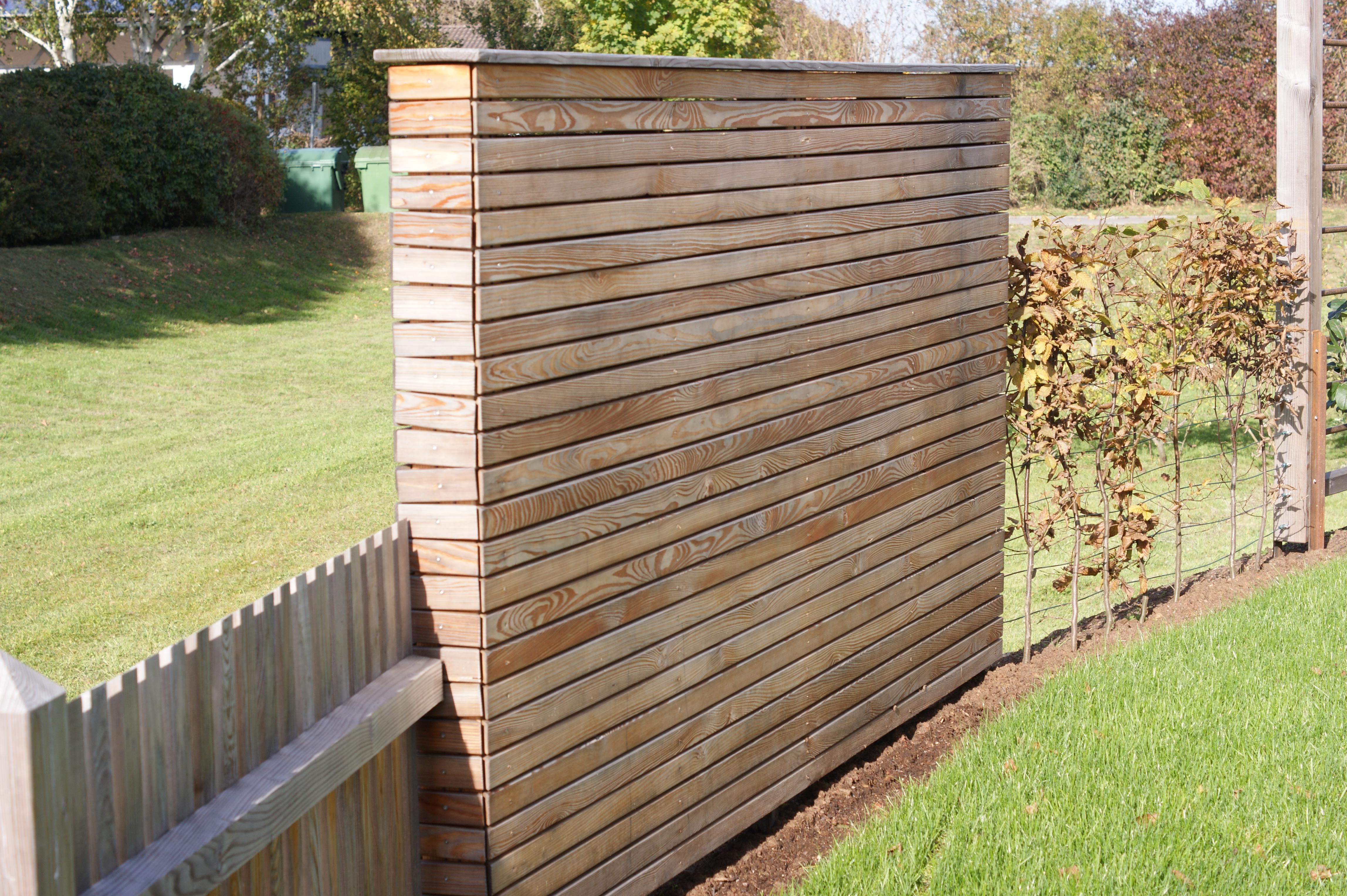 Zaunelemente Holz Sichtschutz Obi ~ Zaunelemente  Sichtschutz